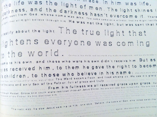 Twitter Gospels